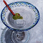 Cocktails Originals - Shaken Not Stirred by Karen Balon