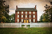 Early American Dwellings Prints - Shaker Village  Print by Darren Fisher
