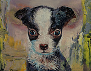 Puppies Art - Shakespeare by Michael Creese
