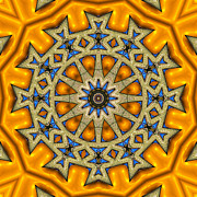 Kaleidoscope Digital Art - Shall We Dance 2 by Wendy J St Christopher