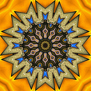 Kaleidoscope Digital Art - Shall We Dance 3 by Wendy J St Christopher