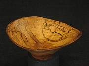 Wooden Bowls Originals - Shallow Work by Stephen Griffin