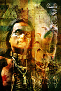 Mark Preston Metal Prints - Shaman. Metal Print by Mark Preston