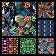 Shambala Framed Prints - Shamballa Strings II Framed Print by Sylvia Thornton