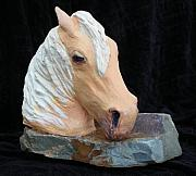 Mustang Sculptures - Shane...come Back Shane by Bryan Alexander
