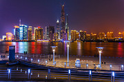 The Bund Prints - Shanghai at Night Print by Yang Yang