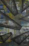 Puerto Rico Paintings - Shards of Glass by Maurice Dilan