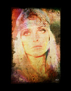 Trial Digital Art Prints - Sharon Tate - Angel Lost Print by Absinthe Art By Michelle LeAnn Scott