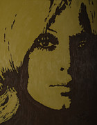 Southern Indiana Painting Posters - Sharon Tate Poster by Darlene Fernald