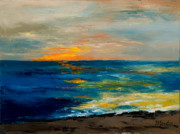 South Carolina Paintings - Sharons Sunset by Larry Martin