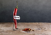 Simple Things Prints - Sharp Chili Print by Nailia Schwarz