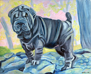 Lyn Cook - Sharpei ... A Blue Day