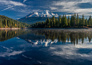 Mount Shasta Photos - Shasta and Lake Siskiyou by Greg Nyquist