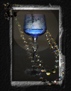 Still Life Mixed Media Metal Prints - Shattered Dreams Metal Print by Gerlinde Keating - Keating Associates Inc