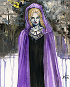 Purple Robe Art - Shattered Faith by James Adams