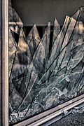 Shards Framed Prints - Shattered Framed Print by Loree Johnson
