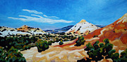 Badlands Painting Originals - She is always on my mind by Dale Beckman