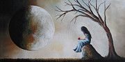 Romantic Paintings - She Misses You by Shawna Erback by Shawna Erback
