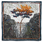 Tree Roots Tapestries - Textiles - She Provides by Lorraine Roy