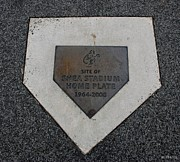 New York Baseball Parks Digital Art - Shea Stadium Home Plate by Rob Hans
