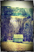 Shed Digital Art Posters - Shed Poster by Jeff Van Syckle