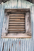 Shed Photo Originals - Shed Window by Tim Hauser