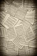 Sheet Music Print by Tim Gainey