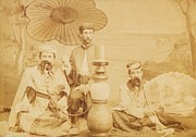 Ohio Photo Originals - Sheiks by Paul Ashby Antique Image