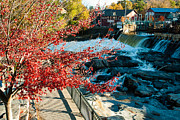 Shelburne Falls Prints - Shelburne Falls Mohawk Valley Massachusetts Print by Robert Ford