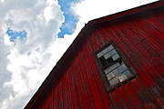 Shelburne Falls Prints - Shelburnes Barn Print by Graham Hayward