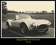 Carroll Shelby Photo Posters - Shelby 427 Cobra S/C Poster by Don Struke