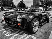 British Cars Framed Prints - Shelby Cobra 001 Framed Print by Lance Vaughn