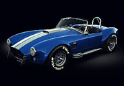 Stylish Car Posters - Shelby Cobra 427 - Bolt Poster by Marc Orphanos