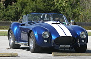 Carroll Shelby Photo Posters - Shelby Cobra Poster by Christiane Schulze