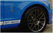 Shelby Mustangs Prints - Shelby Cobra GT 500 / Ford Print by James C Thomas