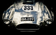 Ford Custom V8 Framed Prints - Shelby Cobra Framed Print by Phil