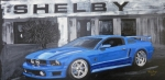 Mustang Paintings - Shelby Mustang by Richard Le Page