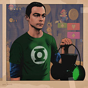 Collectibles Mixed Media - Sheldon by Udo Linke