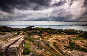 Shelf Originals - Shelf cloud over the sea by Marko Korosec