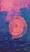 Anne-Elizabeth Whiteway - Shell Alone in Blue and Pink Water