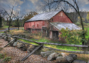 Pennsylvania Barns Prints - Shelter Print by Lori Deiter