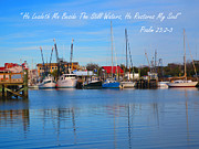 Lisa Jones - Shem Creek Shrimp Boats...