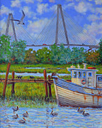 Dwain Ray - Shem Creek View of Bridge