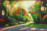 Scenic Drive Paintings - Shenandoah Skyline Drive by Sheila Diemert