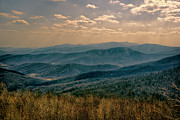 Scenic Drive Framed Prints - Shenandoah Vista Framed Print by Joan Carroll
