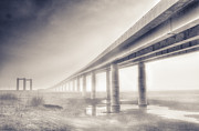 Old Bridge Photos - Sheppey bridge. by Ian Hufton