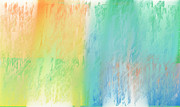 Sherbet Abstract Print by Andee Photography