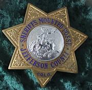 Sheriffs Mounted Posse Print by Steven Parker