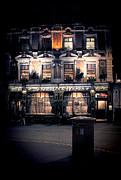 Sherlock Holmes Pub Print by Jasna Buncic