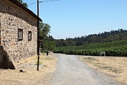 Wine Country. Framed Prints - Sherry Barn At Historic Jack London Ranch In Glen Ellen Sonoma California 5D24528 Framed Print by Wingsdomain Art and Photography